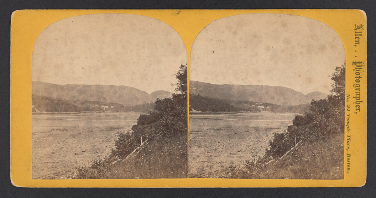Otter Creek Head Stereograph